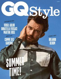 DIARY OF A CLOTHESHORSE: Orlando Bloom for GQ Style Germany Spring 2018
