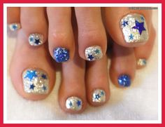 cool summer nail designs | easy toe nail designs for beginners