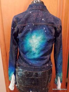 Nebula Jean Jacket - CLOTHING