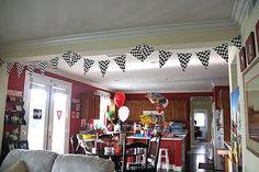 blog of Hot Wheels themed party (many ideas)