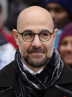 Stanley Tucci - loved him in Easy A, Lovely bones and can't wait to see him in Hunger Games!