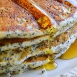 Day #7 of All Citrus Week: Lemon Poppy Seed Pancakes