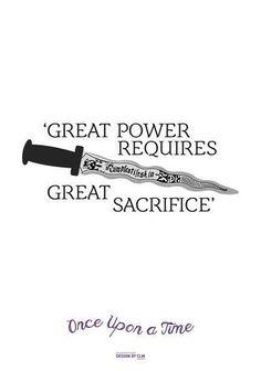 #OnceUponATime #Rumple #Dagger #Power
