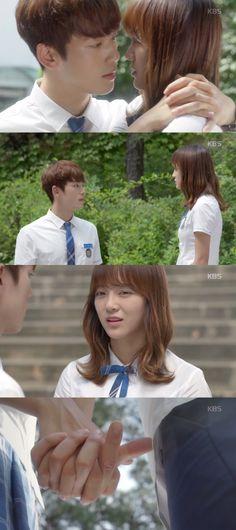 "[Spoiler] ""School 2017"" Kim Sejeong and Kim Jung-hyun together at last"
