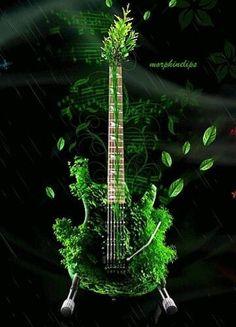 Abstract Guitars Diamond Paintings Theme Musique, Jazz, Gifs, Art Music, Cool Guitar, Guitar Pics, Die Stimme, Mundo Musical, Simple App