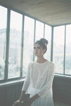 Robes de mariée de Donatelle Godart - Collection 2016 | Robe : A song | Crédits : Romina Shama | Donne-moi ta main - Blog mariage