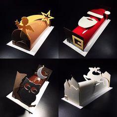 Colección Buche de Noel 2016 Crujiente petits plaisirs #troncodenavidad #crunchyteam #nuestravisiondelanavidad #retoconseguido #noel #alicantepastrytour #spain #quiendijoquenosepodia #pastry #contentos @valrhonaes @revistadulcypas @valrhonasignature @guiarepsol @chefstalk @silikomartprofessional Abierto el periodo de Reservas Información en los tlf : 650 07 07 27- 96 619 35 12 Christmas Cake Decorations, Chocolate Decorations, Christmas Desserts, Christmas Treats, Chocolate Christmas Gifts, Super Torte, Japanese Cake, Log Cake, Chocolate Sculptures