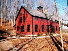 A Barn Home in Michigan by Yankee Barn Homes