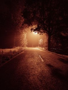 Night road by FrantisekSpurny on DeviantArt Night Night, Night Time, Tumblr Photography, Amazing Photography, Beautiful World, Beautiful Places, Fight Song, Winding Road, Back Road
