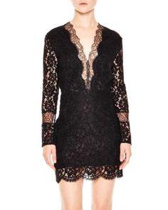 Sandro Megan Lace Dress | Bloomingdale's