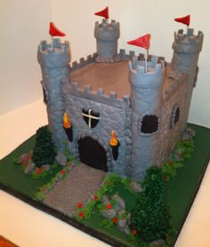 Castle Cake — Birthday Cakes