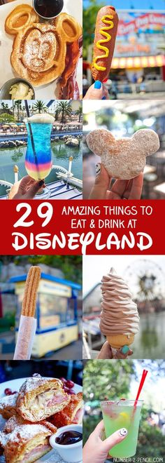 29 Amazing Things to Eat and Drink at Disneyland - What to Eat at Disneyland…