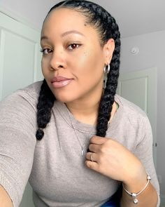 3c Natural Hair, Protective Hairstyles For Natural Hair, Natural Hairstyles For Kids, Natural Hair Styles, Natural Life, Scene Hair Bangs, Scene Hair Colors, Cornrows Braids For Black Women, Box Braids Styling