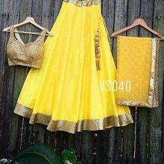Yellow Designer Lehenga Choli  Fabric Info : Tafta silk semi stitch Lengha up to waist size 40 Length 42  Stitching style - umbrella  Blouse unstitched fabric pure matti  zari 1 meter  Dupatta - pure nett with sequence work with border  Tassels along with latkans  Colors can be changed  Made to order - one week  Sale Price : 4000 INR Only ! #Booknow  CASH ON DELIVERY Available In India !  World Wide Shipping !   For orders / enquiry  WhatsApp @ 91-9054562754 Or Inbox Us  Worldwide Shipping…
