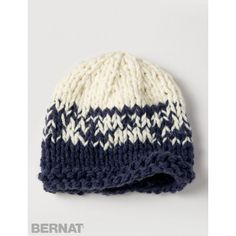 Bulky Gradient Hat - Patterns | Yarnspirations