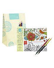 Presente Natura Crer para Ver - Livro + Lápis de Colorir + Embalagem