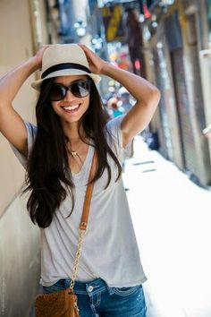 69476c20242ba Casual Outfit for Travel - Stylishlyme. (If only the girls were small  enough to
