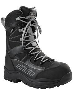 Mens Waterproof Winter Snow Skid Boots,Classic Felt Lined Warm Military Boots for Men.