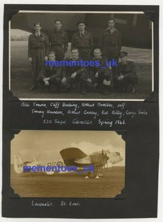 Size of photograph with mount is x cm . Gloster Meteor, Royal Air Force, Lancaster, Ww2, Squad, Pilot, Competition, Army, Photograph