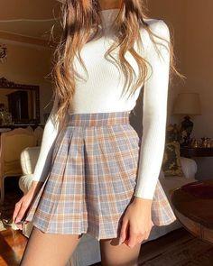 Trend Fashion, Teen Fashion Outfits, Mode Outfits, Cute Fashion, Look Fashion, Fashion Clothes, Fashion Women, Fashion Ideas, Fall Clothes