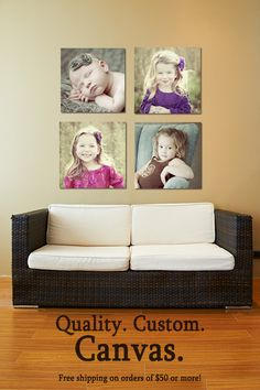 Print your photos as stunning archival canvas prints.   Free shipping in Canada for orders of $50 or more. Print Your Photos, Great Photos, Entryway, Canada, Canvas Prints, Free Shipping, Furniture, Home Decor, Appetizer