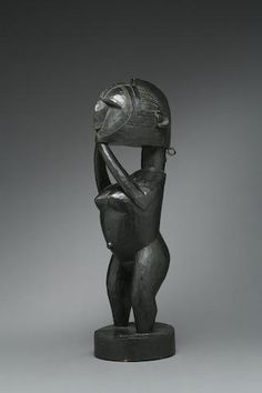 A Baga standing figure