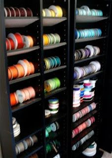 {Organization} 4 Great Ribbon Storage Ideas - Page 2 of 2 - Scrap this...and that! | Scrap this...and that!