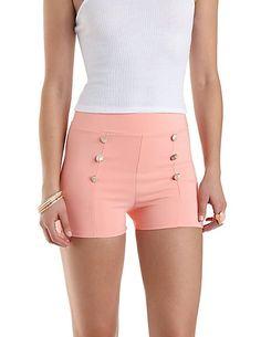 High-Waisted Sailor Shorts