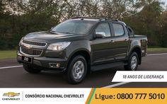 Chevrolet #S10 LTZ 2.8 Diesel 4X4, a líder da categoria a 18 anos! E você pode ter a sua, mensais a partir de R$ 2.594,51! Acesse www.consorciodeauto.com.br e escolha a sua