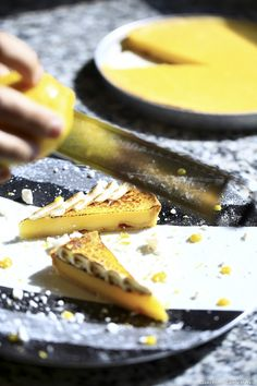 Cette tarte classique permet de mettre en valeur la saveur du citron de Menton.