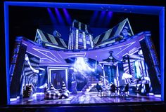 The creators of the 'Beetlejuice' musical 'tried to run toward Burton' visually - The Washington Post Beetlejuice, Broadway Stage, Broadway Plays, Theatre Nerds, Musical Theatre, Die Macher, Set Design Theatre, Little Shop Of Horrors, National Theatre