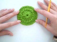 Como fazer o Croche Circular - Aprendendo Crochê - YouTube