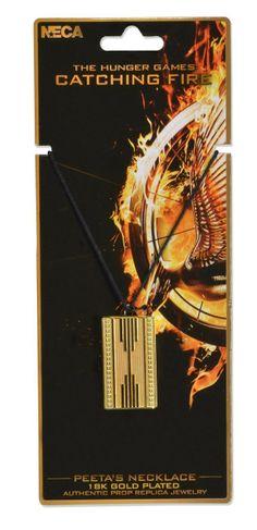 Colgante Peeta Mellark. Los Juegos del Hambre: en Llamas. NECA