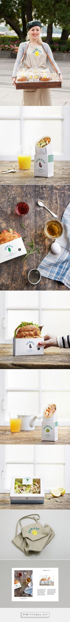 New Day Packaging / New Day is a healthy, tasty alternative to convenience food by Gøril Torske, Sigrid Therese Pfanz