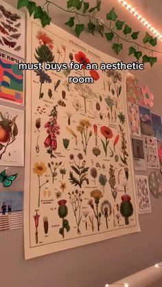 Indie Bedroom, Indie Room Decor, Cute Bedroom Decor, Room Design Bedroom, Aesthetic Room Decor, Room Ideas Bedroom, Girls Bedroom, Bedrooms, Bedroom Inspo