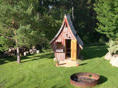 Fairytale garden shed