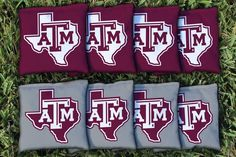 Texas A&M State of Texas All Weather Cornhole Replacement Bag Set