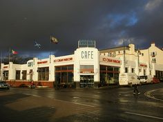 Nardini's is an amazing Italian cafe in Largs on the west coast of Scotland