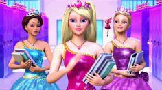 Barbie escola de princesas filme completo dublado - Filme de animação