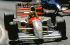 Ayrton Senna Mclaren  Monaco GP 1993