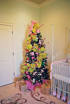 Pink Preppy Lilly Lover Christmas tree