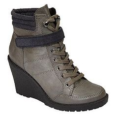 44a930ce788205 Bongo -Women s Ponder Wedge Boot - Grey. I actually bought these in two  colors