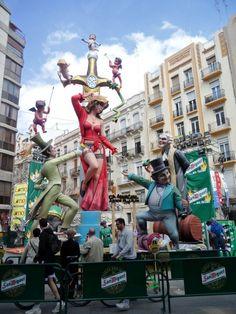 The Fallas Festival, Valencia