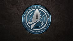 New Star Trek USS Discovery Starfleet Command Logo by gazomg