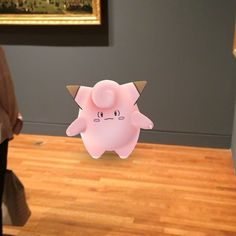 Foolishly caught a Clefairy at @ngc_mbac while checking the #VigeeLeBrun exhibit.