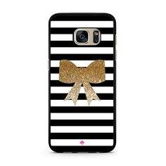 Kate Spade Inspired Bow Faux Glitter Samsung Galaxy S7 Case