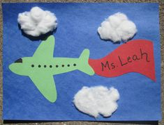 Transport craft for preschool and craft ideas on transport to school process art for kids still . Preschool Transportation Crafts, Transportation Theme, Preschool Activities, Preschool Food, Preschool Classroom, Kids Airplane Crafts, Toddler Crafts, Crafts For Kids, Airplane Activities