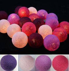 Guirnaldas+de+bolas+de+luz,++de+PIKMODE+por+DaWanda.com