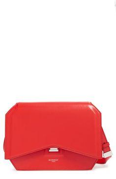 GIVENCHY 'Medium Bow Cut' Leather Shoulder Bag. #givenchy #bags #shoulder bags #leather #lining