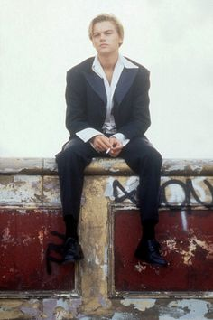 """Leonardo DiCaprio in """"Romeo + Juliet"""""""